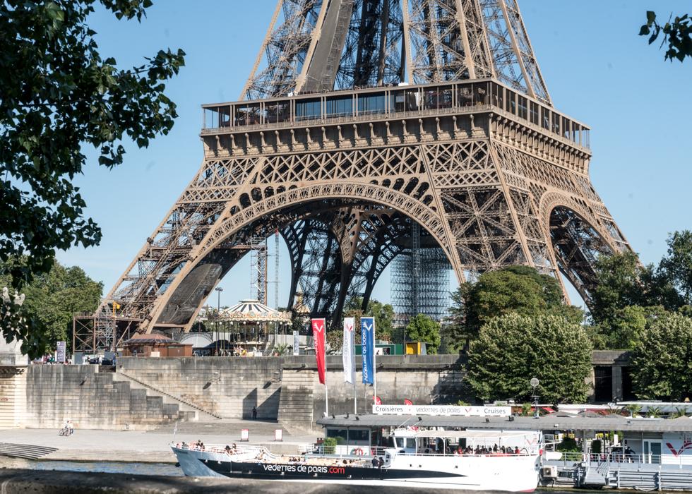 PARIS SEINE RIVER CRUISE - VEDETTES DE PARIS UNDER EIFFEL TOWER