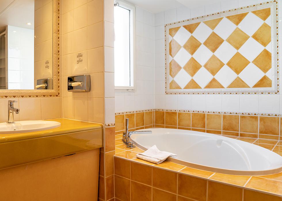 Красивый отель в Марэ в Париже