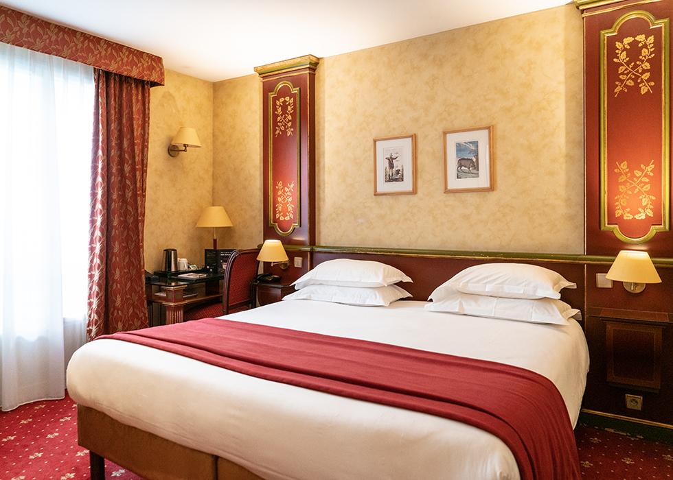 villa beaumarchais отель в Марэ