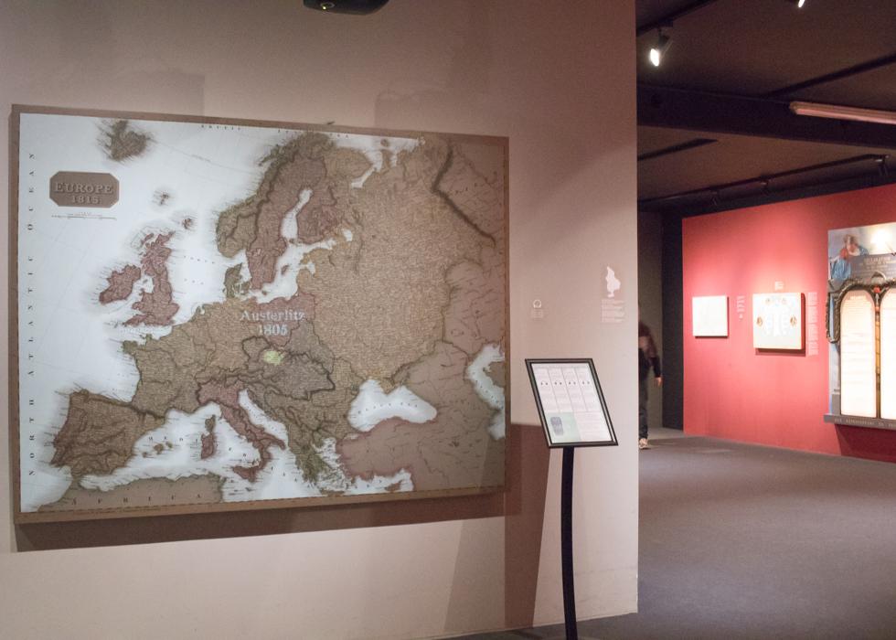 ベルギー旅行 ワーテルロー ナポレオン メモリアル1815