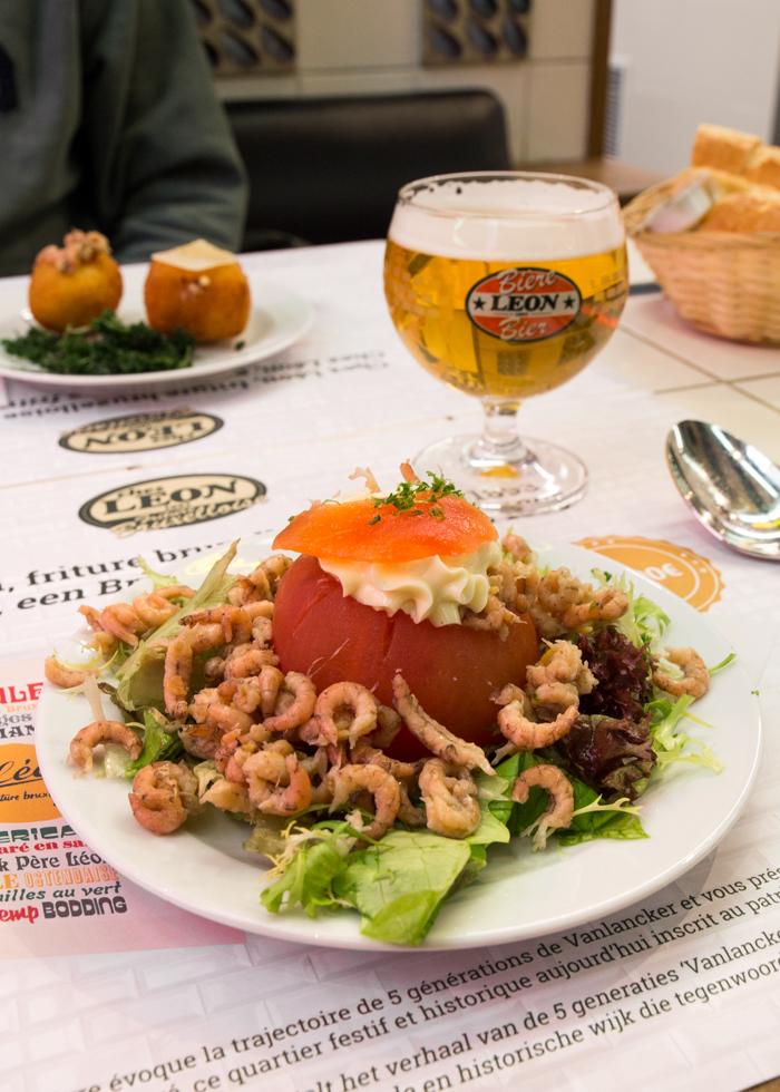 벨기에 새우 토마토 샐러드