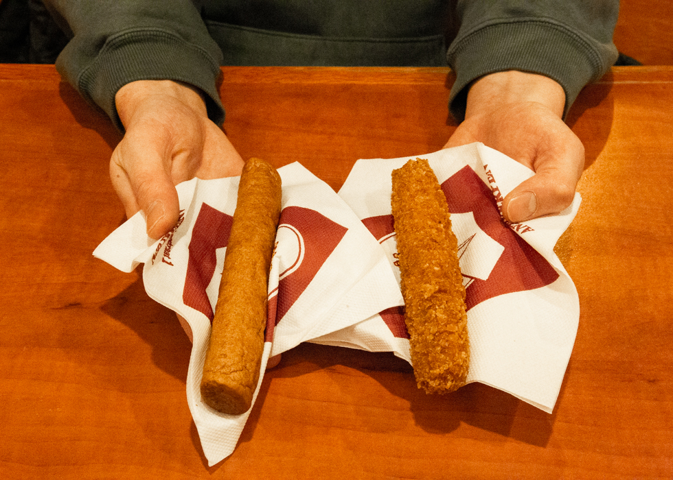 frikandel and kroket