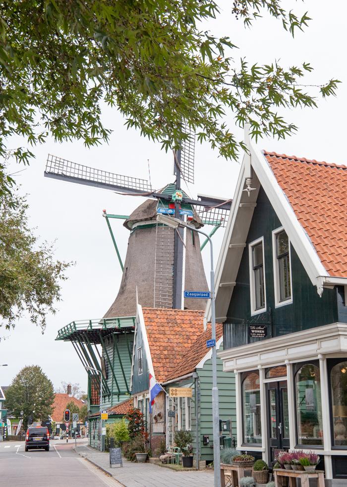 Куда поехать недалеко от Амстердама: Заансе Сханс