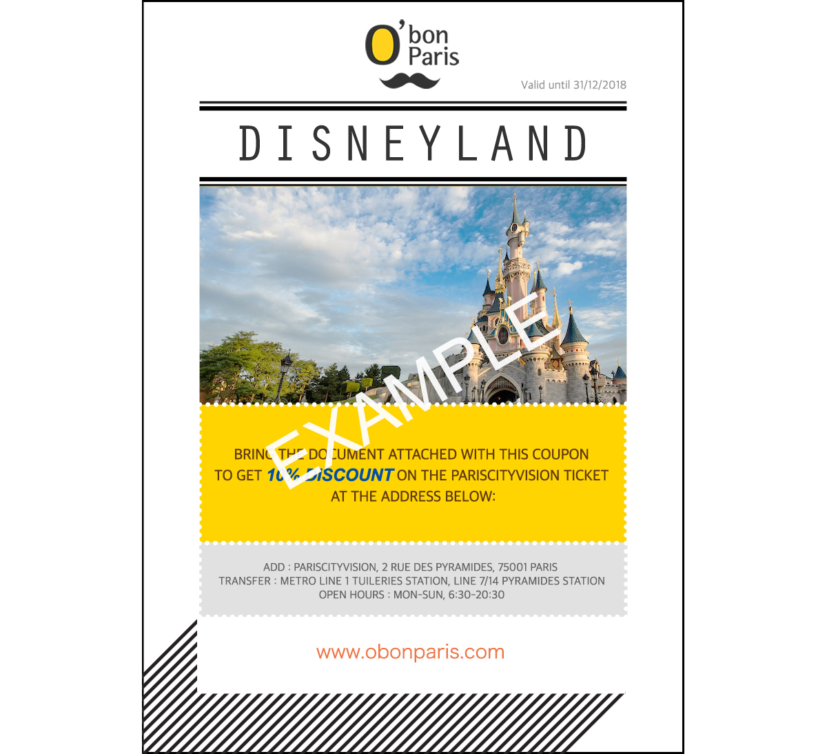 Thomas Cook (It's also worth looking out for a Thomas Cook voucher code) TravelSupermarket. Groupon voucher code. More Disneyland booking tips. Book Disneyland Paris tickets.
