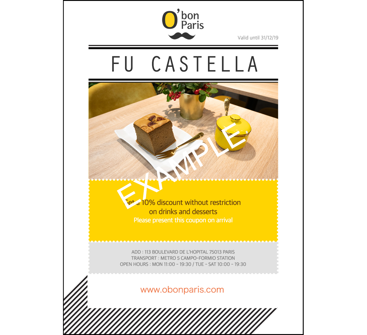 coupon castella