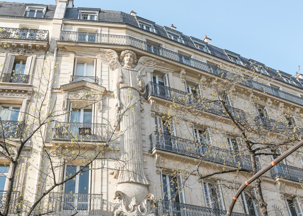 巴黎 墙上的天使RUE DE TURBIGO