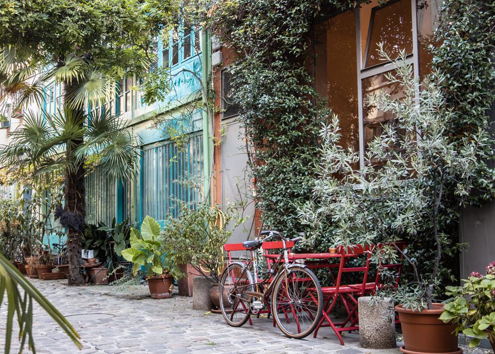パリ 隠れ家スポット Cité du Figuier