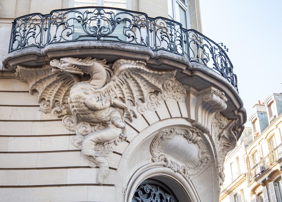 巴黎特色建筑 龙之屋