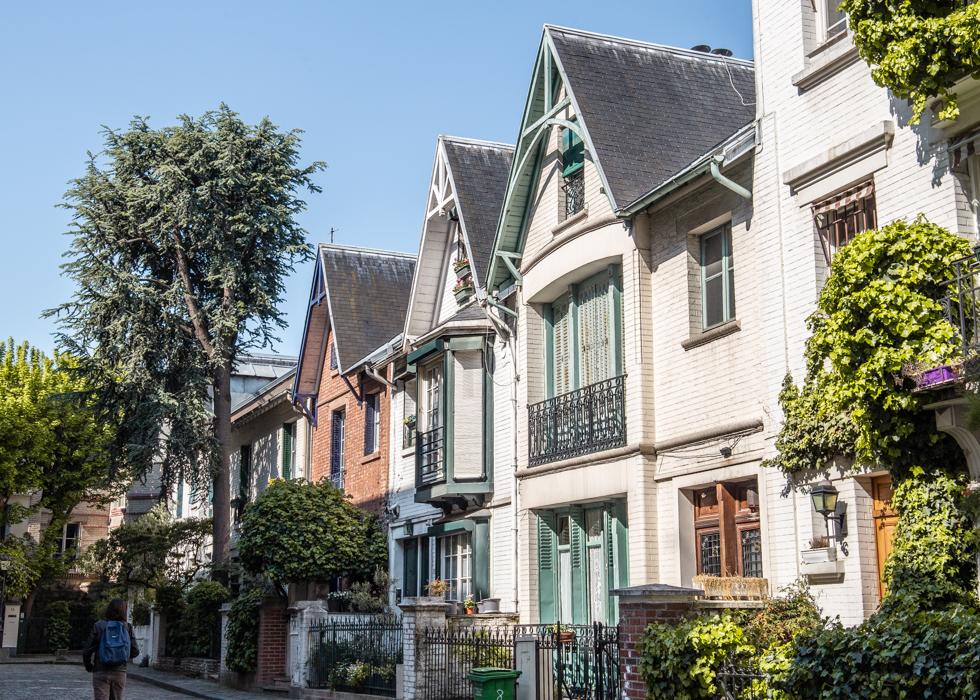 パリ モンマルトル VILLA LEANDRE