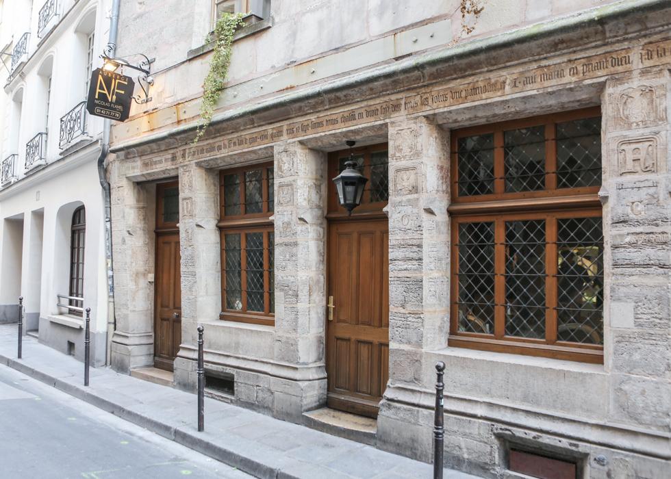 巴黎特色建筑 炼金术士之家 House of Nicolas Flamel