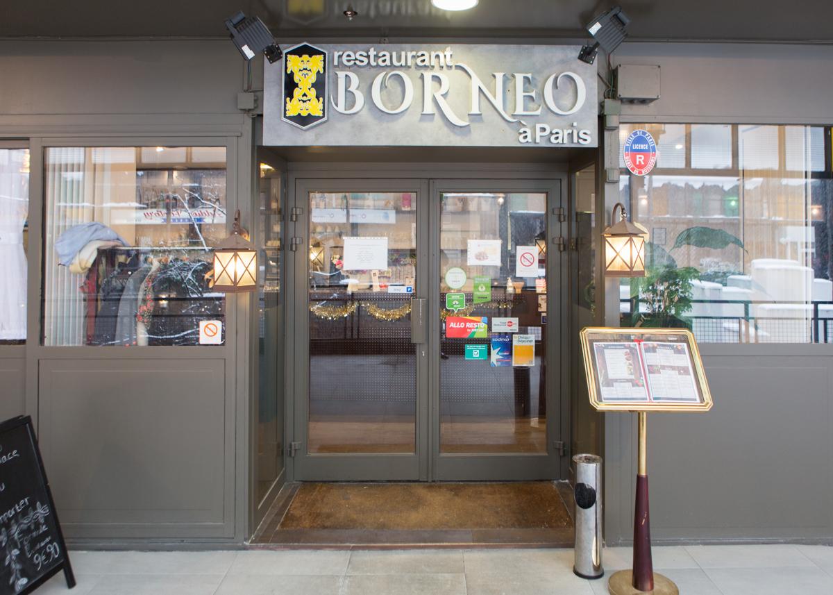 巴黎印度尼西亞餐廳,巴黎餐廳推薦,indonesia restaurant,Borneo à Paris