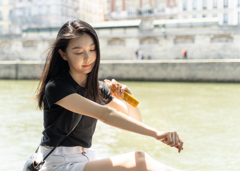 Sunscreen French sunblock