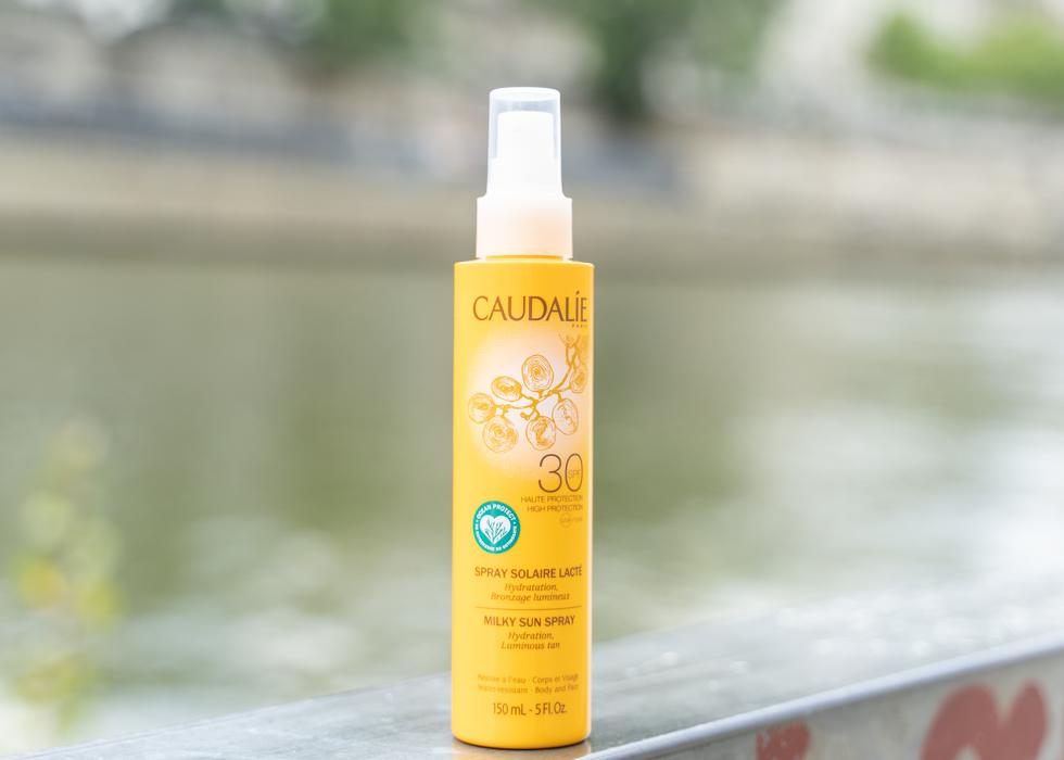 Caudalie milky sun spray sunscreen