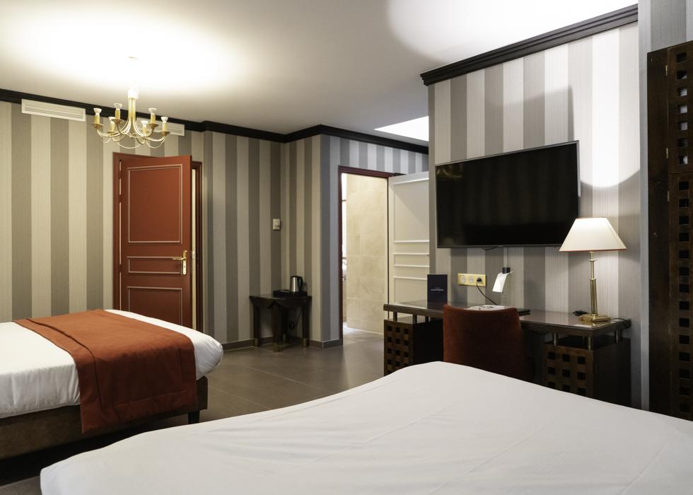 Отель в Латинском квартале, Париж